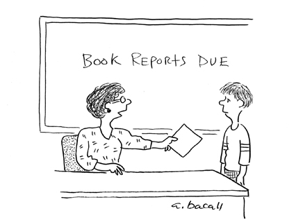 Image result for book report due