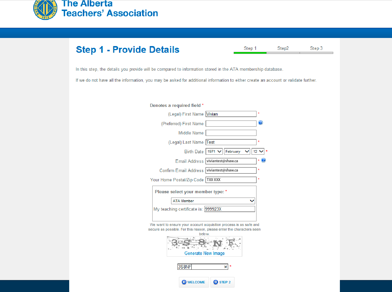 Online ata accounts setup instructions click here to see how to request your teaching certificate number aiddatafo Images